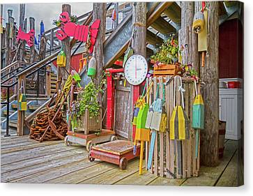 Maine Attraction Canvas Print by Betsy Knapp