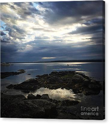 Maine Drama Canvas Print