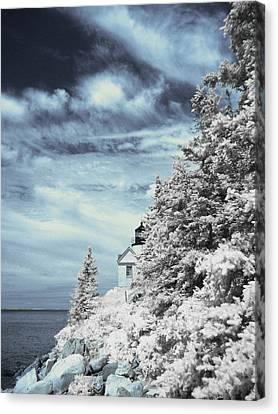Maine Lighthouses Canvas Print - Maine Lighthouse by Bob LaForce