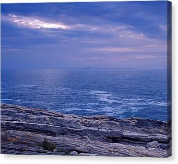 Maine Seascape Canvas Print