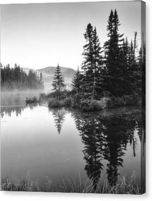 Maine Solitude Canvas Print