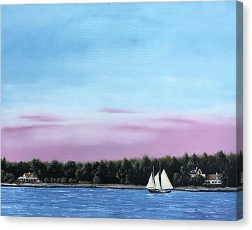 Maine Tranquility Canvas Print