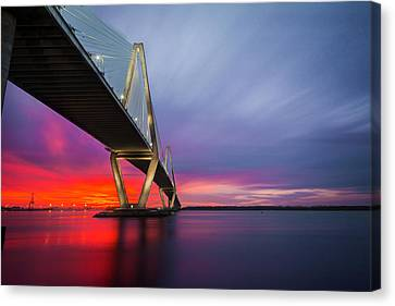 Majestic Arthur Ravenel Canvas Print by RC Pics