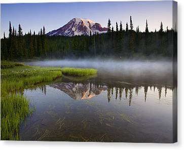 Majestic Dawn Canvas Print by Mike  Dawson