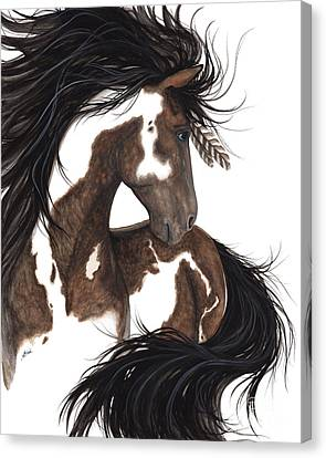 Majestic Dream Pinto Horse Canvas Print by AmyLyn Bihrle