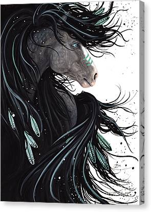 Abstract Equine Canvas Print - Majestic Dream Horse #138 by AmyLyn Bihrle