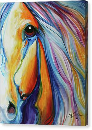 Canvas Print - Majestic Equine 2016 by Marcia Baldwin