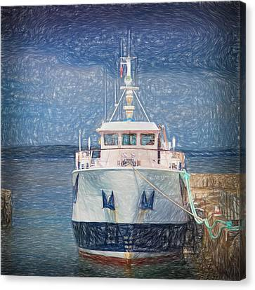 Majestic Ferry $1 Canvas Print