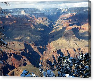 Majestic Grand Canyon Canvas Print by Laurel Powell