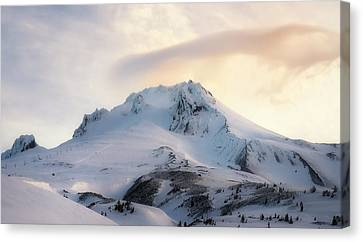 Majestic Mt. Hood Canvas Print by Ryan Manuel