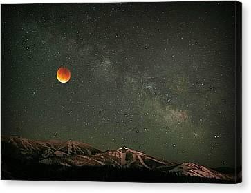 Majestic Sky Canvas Print by Matt Helm