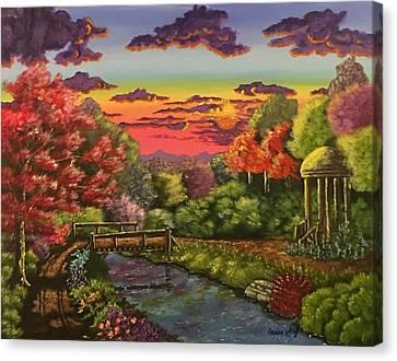 Majestic Sunset Canvas Print