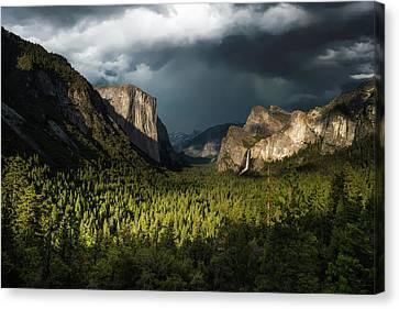Majestic Yosemite National Park Canvas Print by Larry Marshall