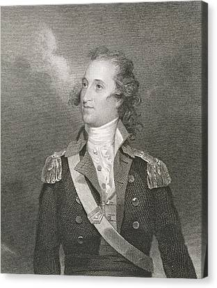 Major General Thomas Pinckney Canvas Print by John Trumbull