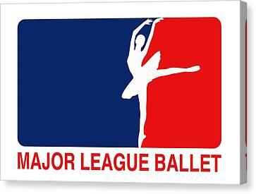 Major League Ballet Canvas Print by Nancy Ingersoll