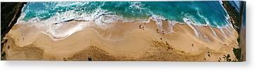Makaha Beach Panorama Canvas Print