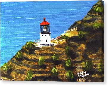 Makapuu Lighthouse #78, Canvas Print by Donald k Hall