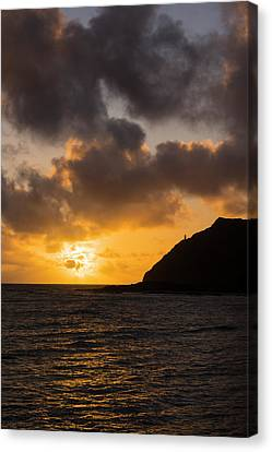 Makapuu Point Lighthouse Sunrise Canvas Print by Brian Harig