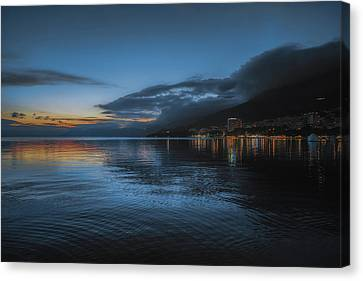 Makarska No 2 Canvas Print by Chris Fletcher