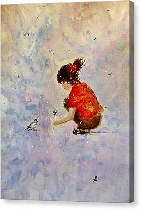 Masters Winners Canvas Print - Make A Wish 20 by Cristina Mihailescu