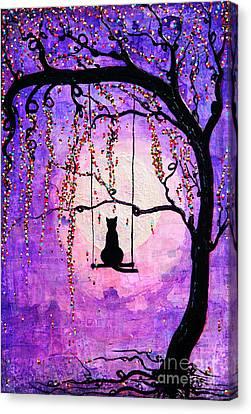 Make A Wish Canvas Print by Natalie Briney