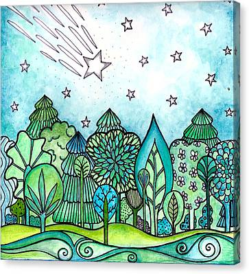Make A Wish Canvas Print by Robin Mead