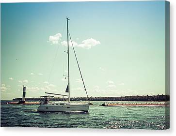 Canvas Print featuring the photograph Make Headway by Joel Witmeyer