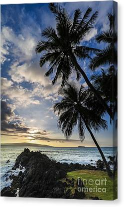 Canvas Print - Makena Maui Hawaii Sunset by Dustin K Ryan