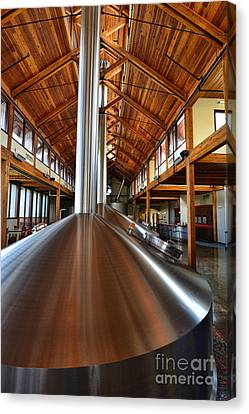 Fort Collins Canvas Print - Making Beer by Keith Ducker