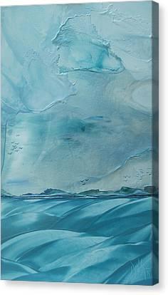 I Am Sailing Canvas Print - Making For Edisto by Danita Cole