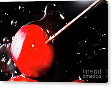 Making Homemade Sticky Toffee Apples Canvas Print by Jorgo Photography - Wall Art Gallery