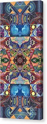 Making Magic - A  T J O D  Arrangement Canvas Print
