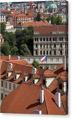 Mala Strana Canvas Print by Diane Macdonald