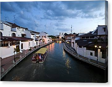 Malacca River Canvas Print by Ng Hock How