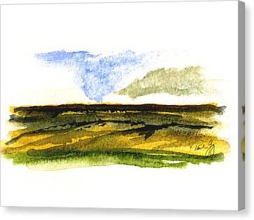 Wa Canvas Print - Malaga Washington Ridge by Paul Gaj