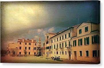 Canvas Print featuring the photograph Malamacco Massive Cloud by Anne Kotan