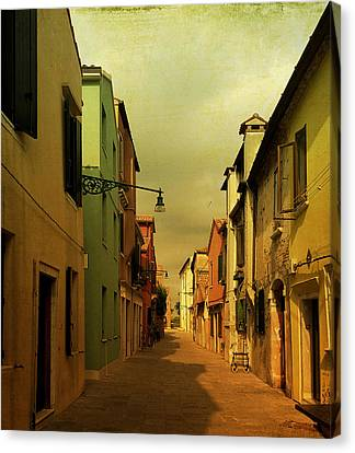 Malamocco Perspective No1 Canvas Print