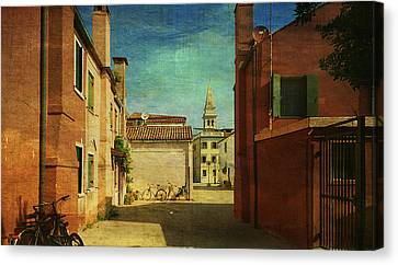 Malamocco Perspective No3 Canvas Print