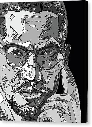 Malcolm X Canvas Print - Malcolm X by Bekim Art