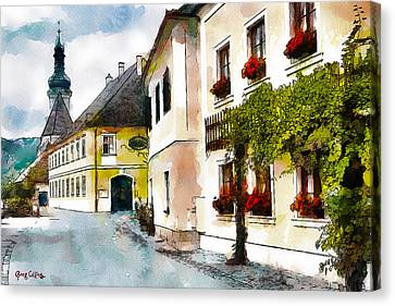 Malerische Canvas Print by Greg Collins