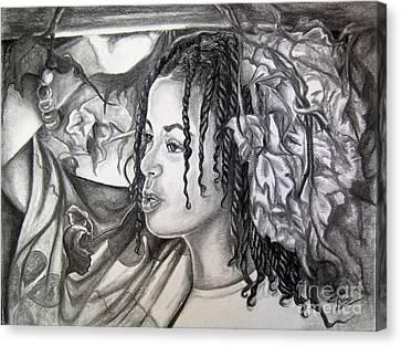 Malia Canvas Print by Toni  Thorne