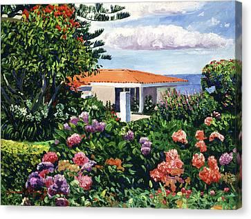 Canvas Print - Malibu Setting by David Lloyd Glover