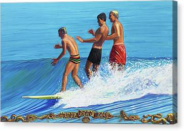 Malibu Trandum Canvas Print