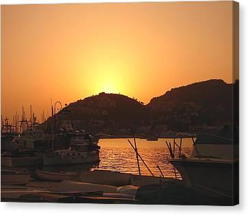 Canvas Print featuring the photograph Mallorca 1 by Ana Maria Edulescu