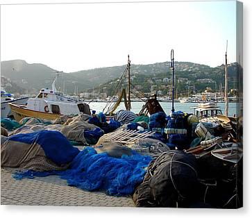 Canvas Print featuring the photograph Mallorca 2 by Ana Maria Edulescu