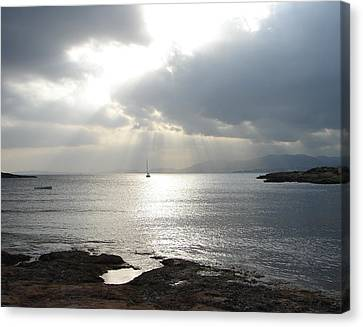Canvas Print featuring the photograph Mallorca by Ana Maria Edulescu