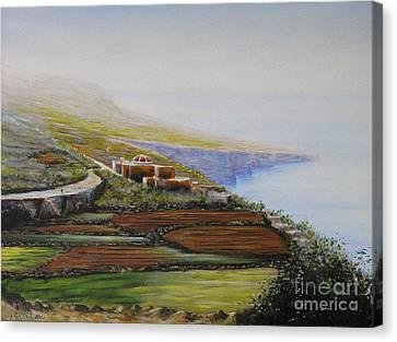 Malta Fawwara Chapel Canvas Print