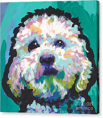 Malted Milky Poo Canvas Print by Lea S