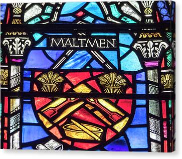 Canvas Print - Maltmen Stained Glass by Jean Noren