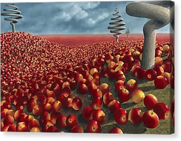 Malus Arvum Canvas Print by Patricia Van Lubeck